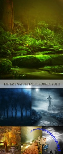 Fantasy Nature Backgrounds Vol.2