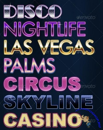 Vegas Party Styles -GraphicRiver