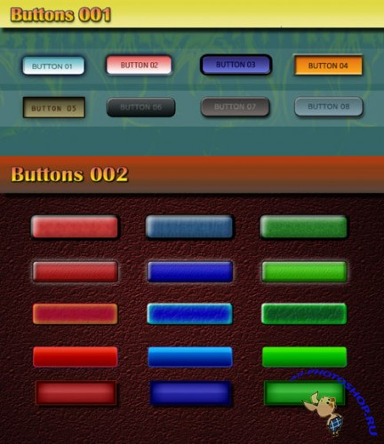 Web Buttons Pack for Photoshop