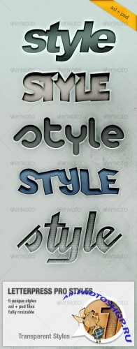 Letterpress Text Pro Styles - GraphicRiver