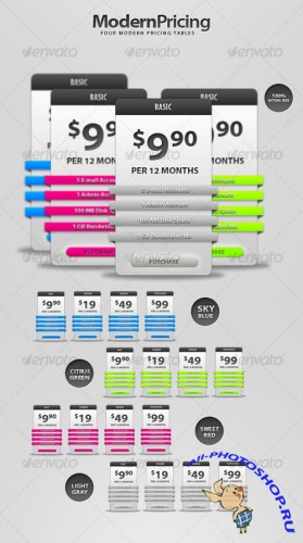 Modern Pricing - GraphicRiver