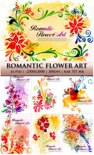 Romantic Flower Art