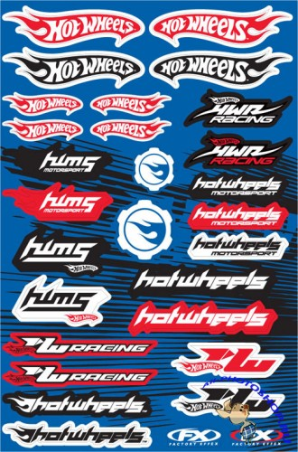 Auto and Moto Vector Stickers