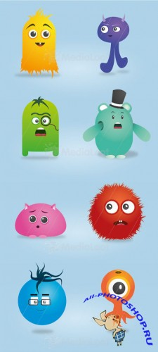 MediaLoot Cute Vector Monsters RETAIL
