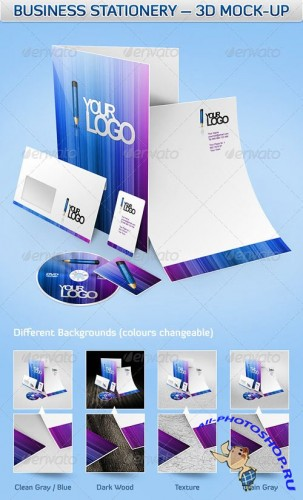 Business Corporate Design Mock-Up
