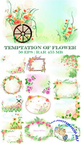 Temptation of Flower EPS