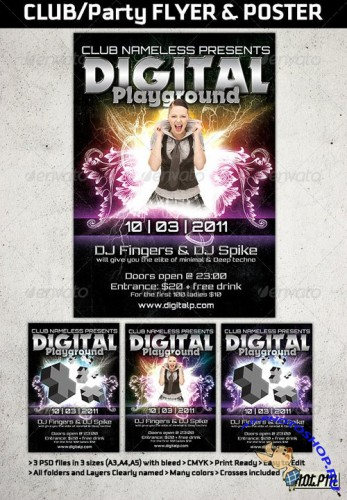 GraphicRiver - Modern Club Party Flyers