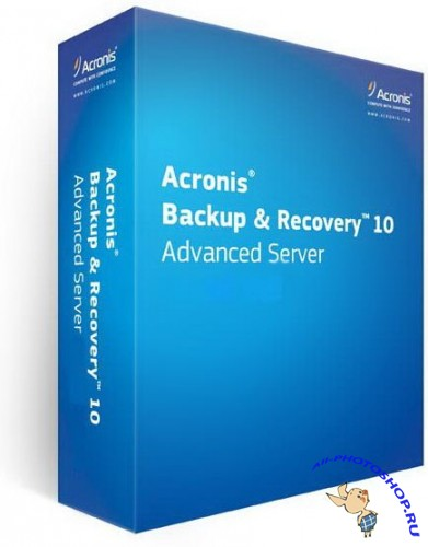 Acronis Backup & Recovery Advanced Server 10.0.13544 BootCD (2011)