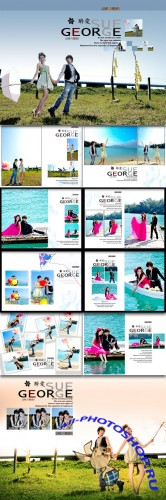 PSD Photo Templates - Drunk Love Series