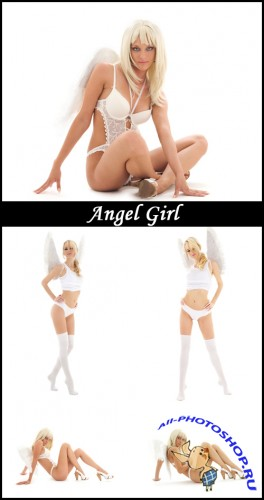 Angel Girl - Stock Photos