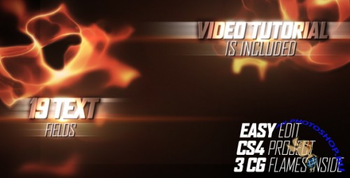 After Effects Project Fiery