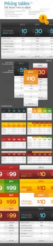 Pricing Table #1 - GraphicRiver