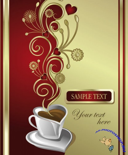 Coffee Cups Vector Mix