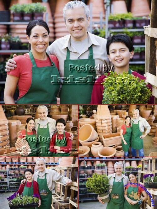 Клипарты фотосток – семейный бизнес