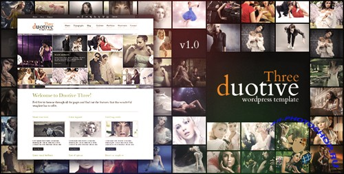 Duotive Three - Complete Wordpress Template v1.1 UPDATED 18042011 for Wordpress RETAiL