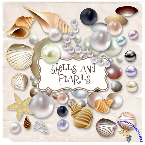 Scrap-kit - Sheals And Pearls