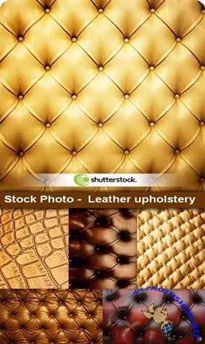 Stock Photo - Leather upholstery (Кожаная обивка)
