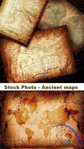 Stock Photo - Ancient maps