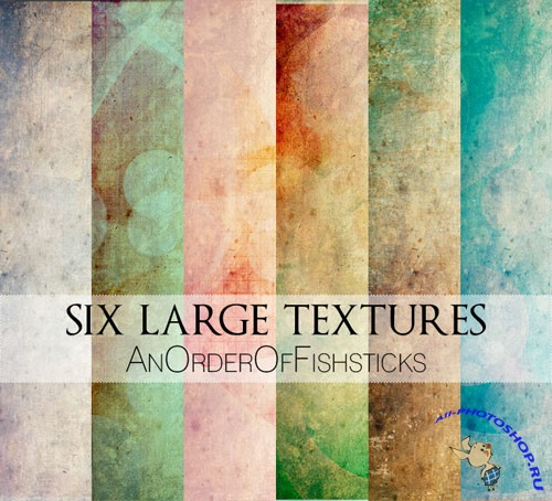 Six Large Textures Pack 1