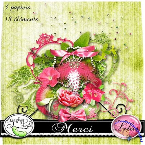 Scrap-set - Lilac Merci