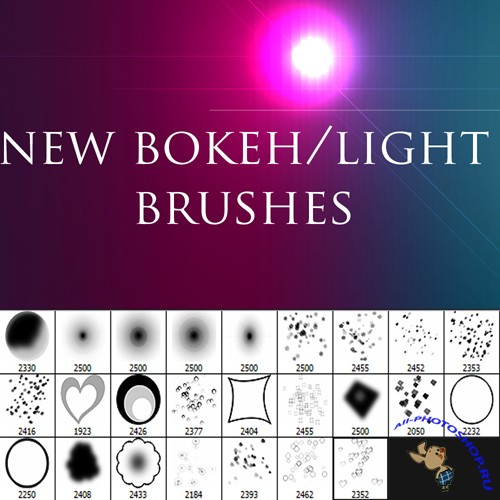 New Bokeh-Lighting Brushes