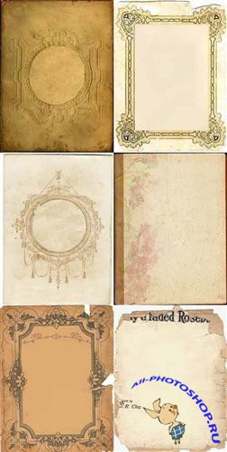 Collection antique backgrounds