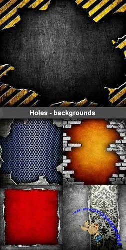 Holes - backgrounds