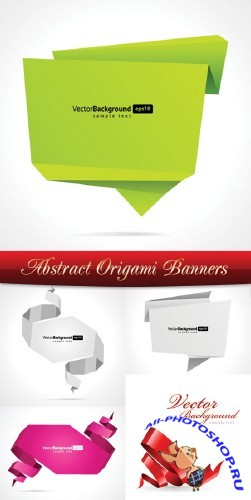 Abstract Origami Banners | ����������� ������� �������