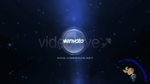 Videohive Disc Logo Intro