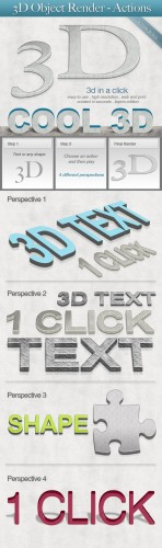 GraphicRiver – 3D Object Render