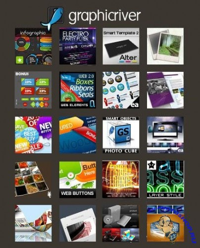 GraphicRiver Super Megapack Collection