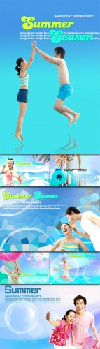 Summer Style Photo Templates