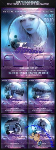 GraphicRiver - Form Poster/Flyer Template