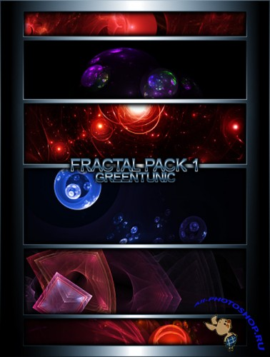 Fractal Backgrounds Pack 1