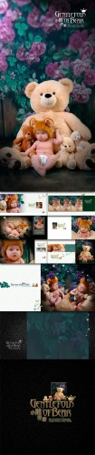 Bear family - Photo Templates