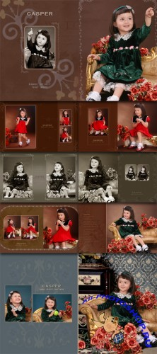 Children Photo Templates - Cute little elf
