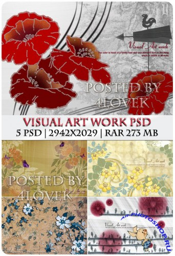 Visual Art Work PSD (RePack)