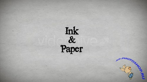 Videohive Ink & Paper