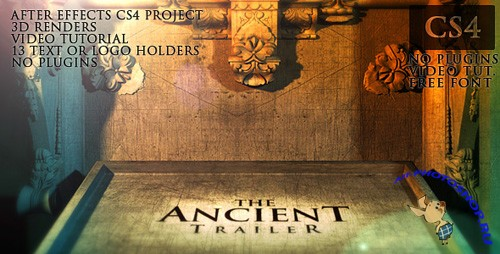 VideoHive: The Ancient Trailer