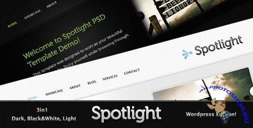 Spotlight WordPress Theme nulled