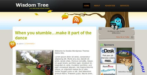 Wisdom Tree Premium WordPress Theme nulled