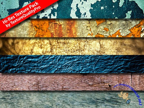 Hi-Res Colourful Textures Pack