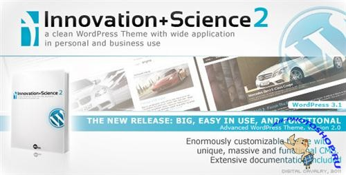 Innovation+Science 2 - Advanced WordPress Theme + HTML