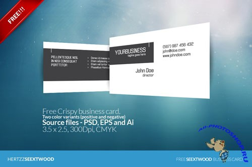 Crispy Business Card Template