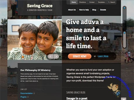 Woothemes Saving Grace v1.0.6 for WordPress 3.x