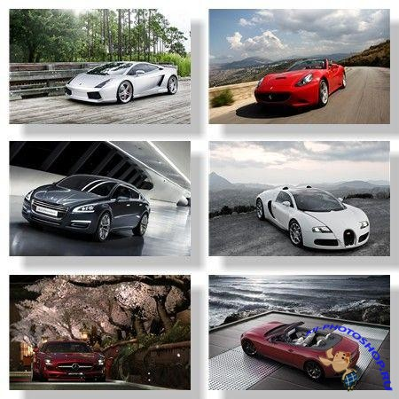 Автомобили / Cars. Подборка №1