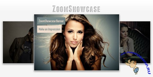 CodeCanyon ZoomShowcase - A jQuery Banner Rotator