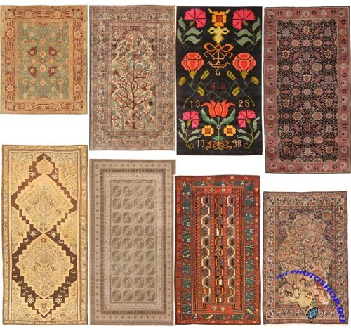 1500 textures classical carpet