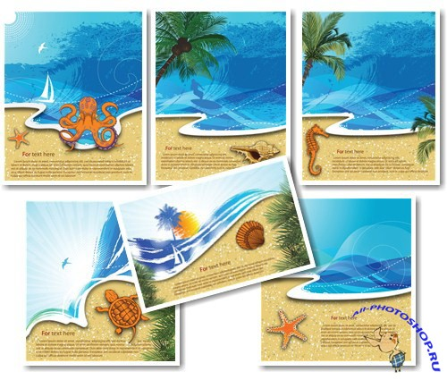 Summer_Sea Backgrounds