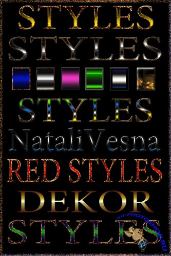 Photoshop Styles Decor
